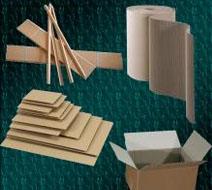 Cornière, Intercalaire, carton ondulé