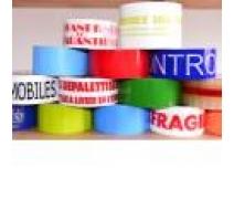 Ruban imprimé et de couleur